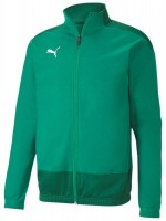 Puma teamGOAL 23 Sideline Poly Jacke Jr pepper green-green Kinder