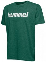 Hummel Go Cotton Logo T-Shirt evergreen Kinder