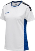 Hummel Authentic Poly Trikot white-blue Damen
