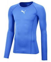 Puma LIGA Baselayer LS Funktionshirt silver lake blue Herren