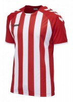 Hummel Core Striped Trikot true red-white Herren