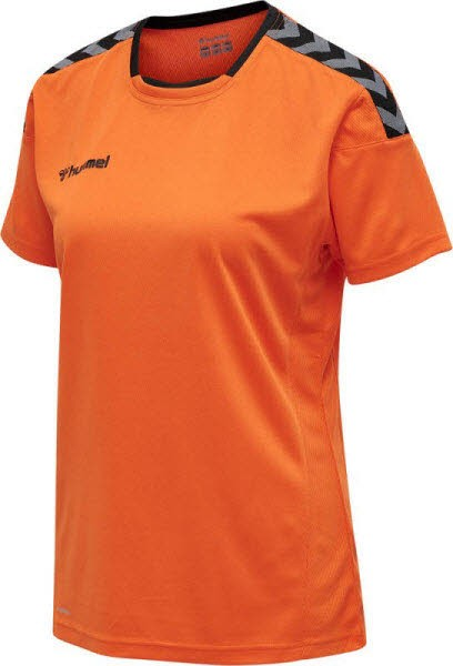 Hummel Authentic Poly Trikot tangerine Damen - Bild 1