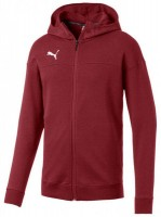 Puma CUP Casuals Hooded Jacket pomegranate-white Herren