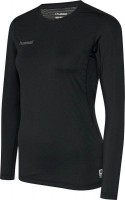 Hummel First Funktionsshirt langarm black Damen