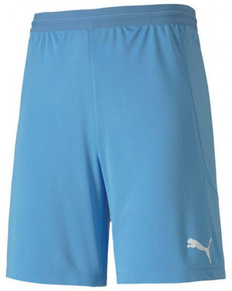 Puma teamFINAL 21 Knit Shorts team light blue Herren - Bild 1