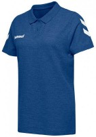 Hummel Go Cotton Polo-Shirt true blue Damen