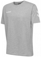 Hummel Go Cotton T-Shirt grey melange Herren