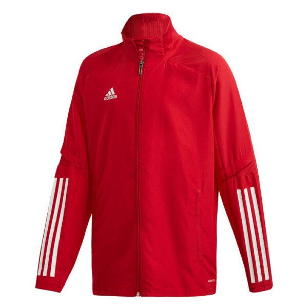 adidas Condivo 20 Präsentationsjacke power red-white Kinder - Bild 1