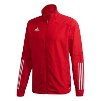 adidas Condivo 20 Präsentationsjacke power red-white Herren
