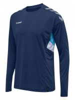 Hummel Tech MoveTrikot langarm Kinder SARAGOSSO SEA Kinder