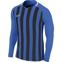 Nike Striped Division III Trikot ROYAL BLUE/BLACK/WHI Kinder