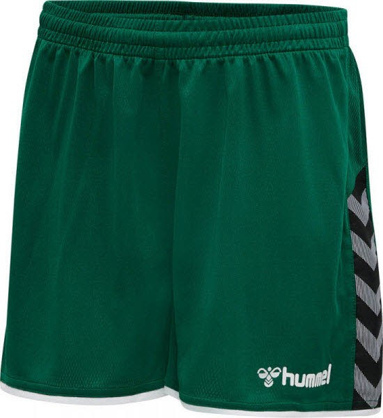 Hummel Authentic Poly Shorts evergreen Damen