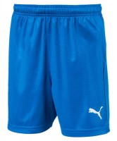 Puma LIGA Shorts Core Jr electric blue-white Kinder