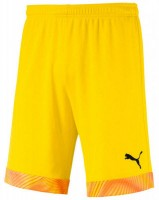 Puma CUP Shorts Jr cyber yellow Kinder