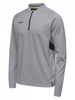Hummel Tech Move Half Zip Sweatshirt GREY MELANGE Herren