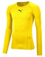 Puma LIGA Baselayer LS Funktionshirt cyber yellow Herren