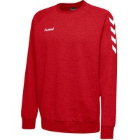 Hummel Go Cotton Sweatshirt true red Herren