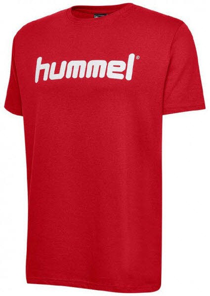 Hummel Go Cotton Logo T-Shirt true red Herren - Bild 1
