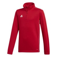 adidas Core 18 Trainingstop power red-white Kinder