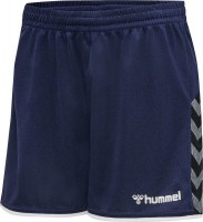 Hummel Authentic Poly Shorts marine Damen