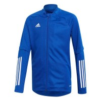 adidas Condivo 20 Trainingsjacke royal blue-white Kinder