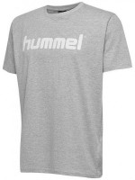 Hummel Go Cotton Logo T-Shirt grey melange Kinder