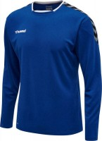 Hummel Authentic Poly Trikot langarm TRUE BLUE Herren