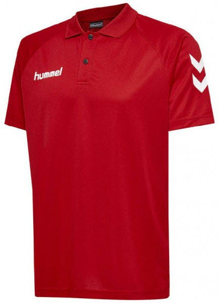 Hummel Core Polo-Shirt true red Herren - Bild 1