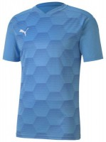 Puma teamFINAL 21 Graphic Trikot team light blue-blue Herren