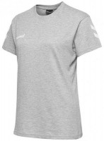 Hummel Go Cotton T-Shirt grey melange Damen