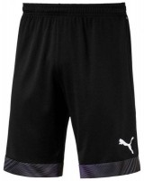 Puma CUP Shorts Jr puma black-white Kinder