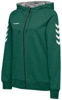 Hummel Go Cotton Kapuzenjacke evergreen Damen