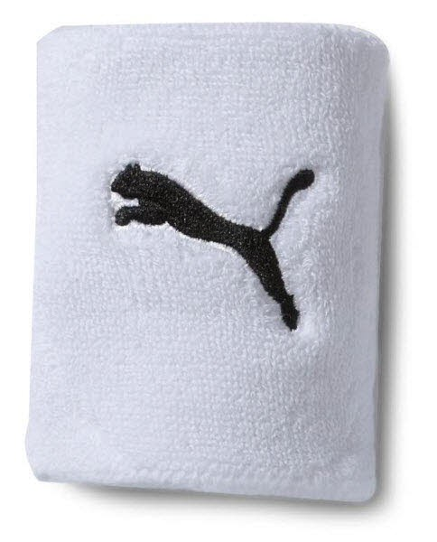 Puma Schweißband CAT weiß Unisex
