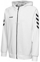 Hummel Go Cotton Kapuzenjacke white Kinder