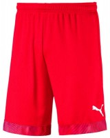 Puma CUP Shorts Jr puma red-white Kinder