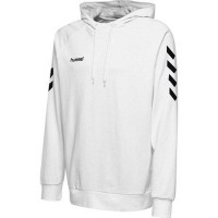 Hummel Go Cotton Kapuzenpullover white Kinder