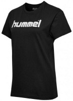 Hummel Go Cotton Logo T-Shirt black Damen