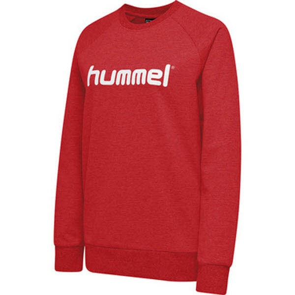 Hummel Go Cotton Logo Sweatshirt true red Damen - Bild 1
