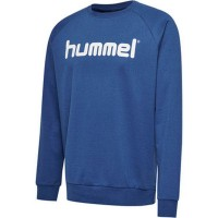 Hummel Go Cotton Logo Sweatshirt true blue Kinder