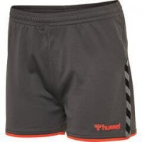Hummel Authentic Poly Shorts asphalt Damen