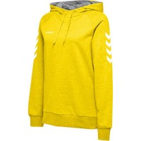 Hummel Go Cotton Kapuzenpullover sports yellow Damen