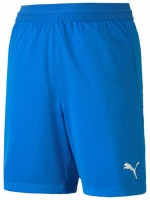 Puma teamFINAL 21 Knit Shorts electric blue lemo Kinder