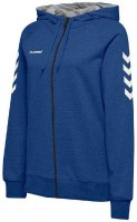 Hummel Go Cotton Kapuzenjacke true blue Damen