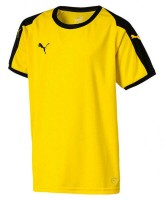 Puma LIGA Jr Trikot cyber yellow-black Kinder