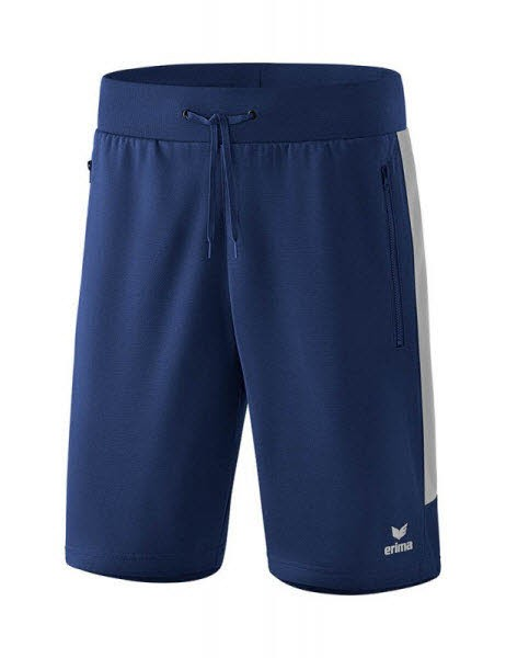 Erima Squad Worker Shorts new navy-silver Kinder - Bild 1