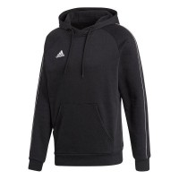 adidas Core 18 Kapuzenpullover black-white Kinder
