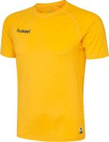 Hummel First Performance Funktionsshirt sports yellow Kinder