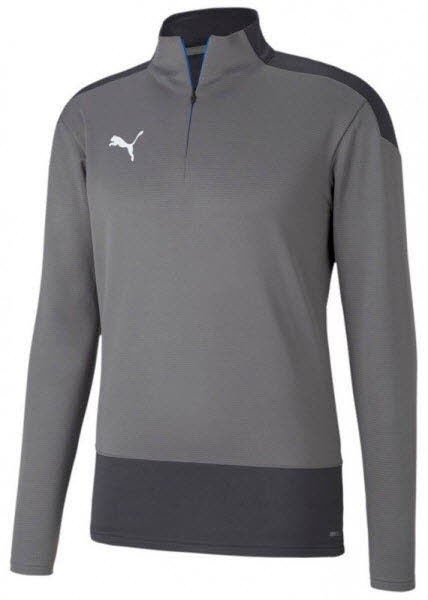 Puma teamGOAL 23 Training 1/4 Z STEEL GRAY-ASPHALT Herren - Bild 1