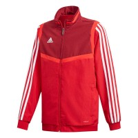 adidas Tiro 19 Präsentationsjacke power red-white Kinder